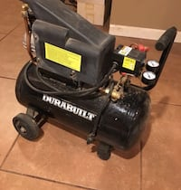 Air Compressor Durabuilt 2hp 6gallon Merrick, 11566