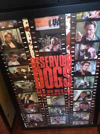 Reservoir Dogs Movie Poster (Framed) Bristol, 02809