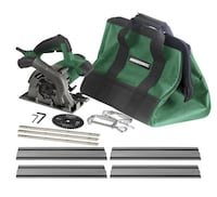 """Masterforce® 4-1/2"""" Plunge Cut Circular Saw Kit with 53-1/2"""" Guide Track Toronto"""