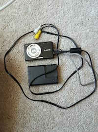 black Sony point and shoot camera with battery charger Frederick, 21701