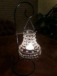 Petite Beaded Shade over Candle on Stand Des Plaines, 60016