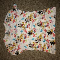 Disney Mickey and Pluto Scrub Shirt Size M Monrovia, 91016