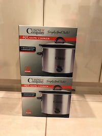 Brand new Cuisine & Company 4qt Slow Cooker  Vancouver, V5M 1T8