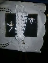 matching vintage necklace & clip on earings Edmonton, T5H 1H2