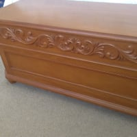 Wood storage chest Temecula, 92592