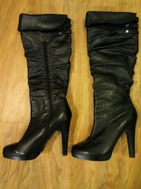 Jessica Simpson black leather boots New Orleans, 70112