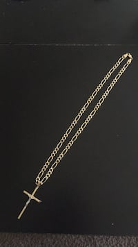 14k gold chain necklace and gold cross Pleasant Valley, 12569