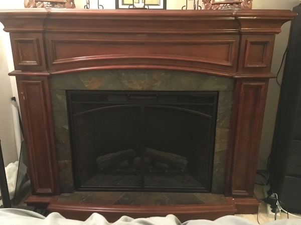 Used Twin Star Electric Fireplace Heater For Sale In Silverdale Letgo