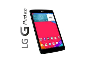 LG GPAD IV 8.0 FHD LTE (Has SIM Slot) Tablet with Box