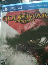console game (ps4) God of war  Lowell, 01851
