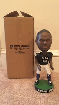 Baltimore Ravens Michael Oher Bobble Head Potomac, 20854