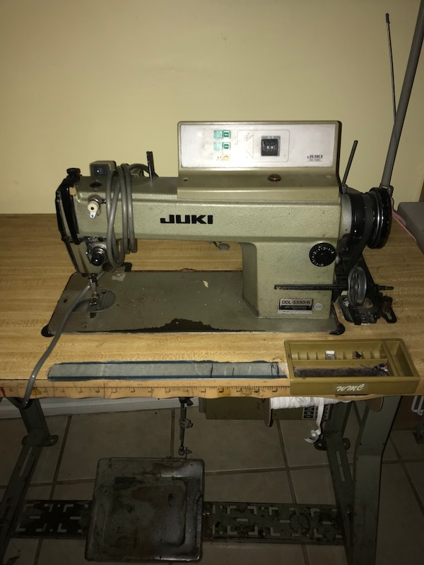 Used Grey And Black Juki Sewing Machine For Sale In Downey Letgo Amazing Juki Sewing Machine For Sale