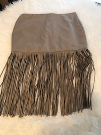 Ladies size large Fringe skirt price is firm  Calgary, T3J 0B3