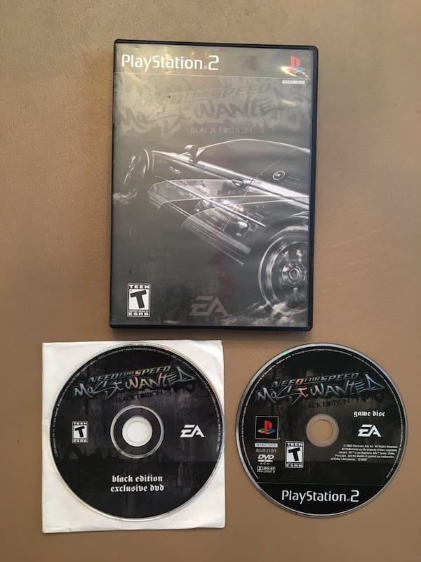 Sold Playstation 2 Need For Speed Most Wanted Black Edition