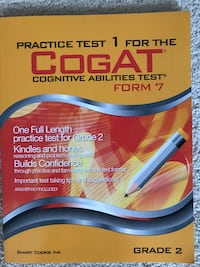 Practice Test 1 For The Cogat book Chantilly