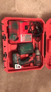 red and black Milwaukee cordless power drill Woodbridge, 22192
