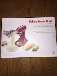 BRAND NEW KitchenAid Vegetable sheet cutter Montreal