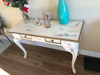 white wooden single pedestal desk Gatineau, J8Z 1G5