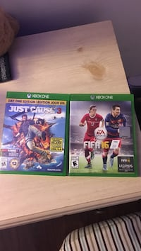 Just Cause 3 and FIFA 16 for Xbox One