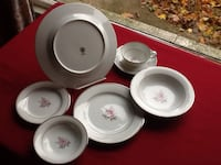 Noritake  4 place setting, 7 pieces per setting Palatine, 60074