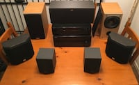 Home theatre system - amazing deal! North Vancouver, V7L 1B5