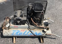 portable twin tank BelAire 5HP compressor Spring