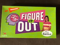 Nickelodeon Figure it Out boardgame Tewksbury