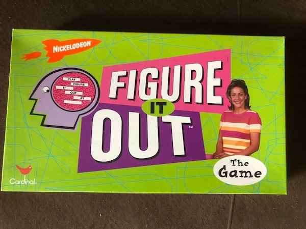 Nickelodeon Figure it Out boardgame 0