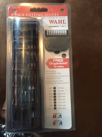 WAHL Professional 8-Pack Cutting Guides with Organizer Tray