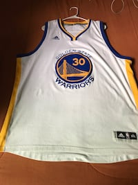 Curry Swing man Jersey 2xl Fremont, 94538