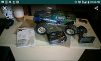 blue and green monster truck RC toy screenshot Mesa, 85201