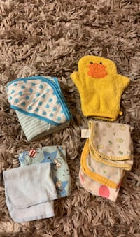 Baby towel and wash cloths