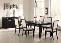 Louise 5 or 7 Piece Dining Set  *** WE OFFER FINANCING** FREE DELIVERY*** Las Vegas