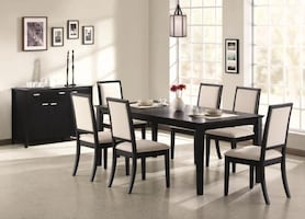 Louise 5 or 7 Piece Dining Set  **WE OFFER FINANCING** FREE DELIVERY