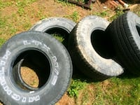Ok condition 31x10.5 r15 tires Forest Hill, 21050