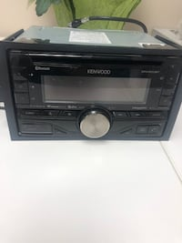 Kenwood Double din digital receiver with Bluetooth