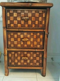 Beautiful 3 drawers rustic wooden table  Toronto