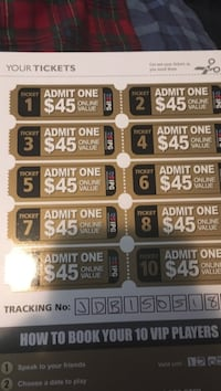 Paint ball tickets for international paintball group Calgary, T2Y 4E4