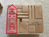 Melissa and Doug wooden building blocks  Vienna, 22180