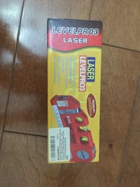 Laser Level [FREE Batteries Included] with 8 Ft Measuring Tape Ruler Adjusted Standard and Metric Rulers - Best Professional Craftsman Self Leveling Laser leveler For Multipurpose Jersey City, 07306