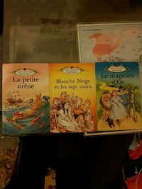 three assorted story books collection