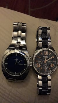 Two original fossil watches  Norwalk, 90650