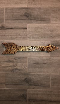 Brown and black wooden wall decor Fort Myers, 33912