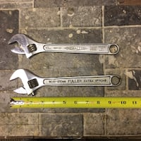"Crescent wrench, 8"" & 10"" Uniontown, 15401"