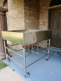 Stainless steel seafood sorting table Edinburg, 78542