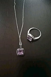 Necklace and ring size 8 Nashua, 03064