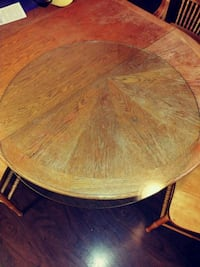 Round glass table top top glass only