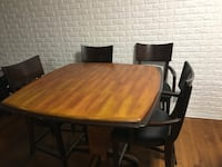 Two tone bar height table and chairs  Glen Burnie, 21061