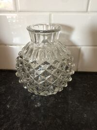 clear cut glass candle holder Kingston, K7M 8V6