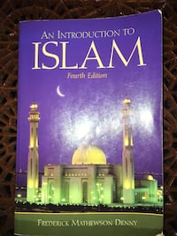 HUMA 1845: An Introduction to Islam 4th edition by Frederick Denny Vaughan, L4L 0A9
